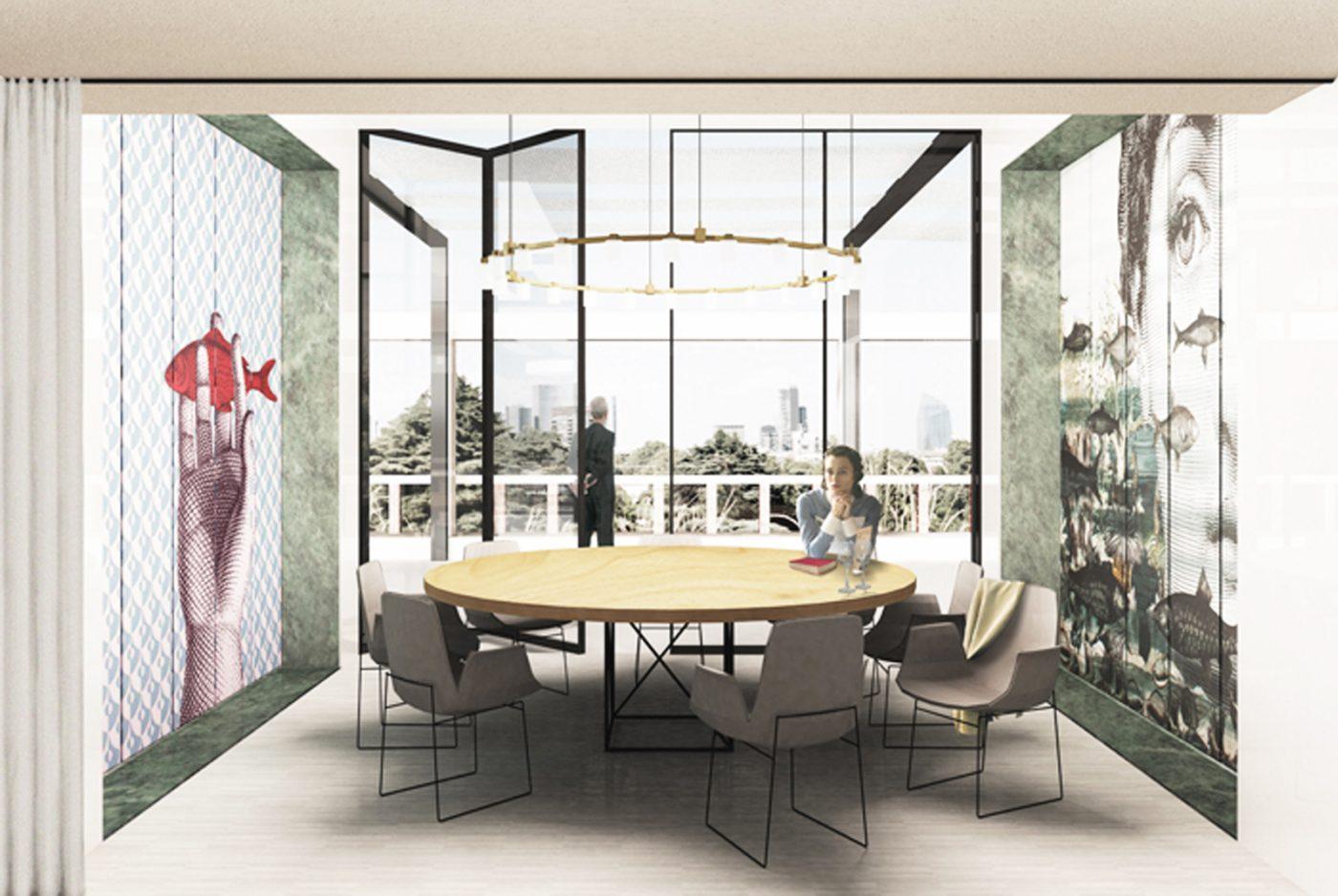 Terrazza Triennale Studio Wok
